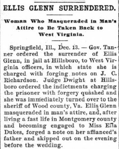 Ellis Glenn Surrendered.