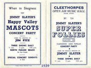 Visit Jimmy Slater's Happy Valley Mascots Concert Party