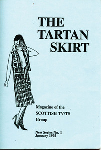 The Tartan Skirt: Magazine of the Scottish TV/TS Group No. 1 (January 1992)