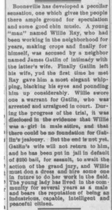 """A Young """"Man"""" Accused of Intimacy with a Neighbor's Wife (Okolona Messenger, July 22, 1903)"""