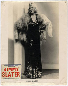 Britain's Foremost Female Impersonator Jimmy Slater