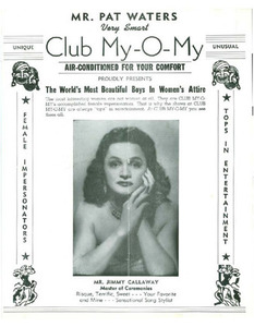 Mr. Pat Waters Very Smart Club My-O-My Proudly Presents The World's Most Beautiful Boys in Women's Attire (1954)