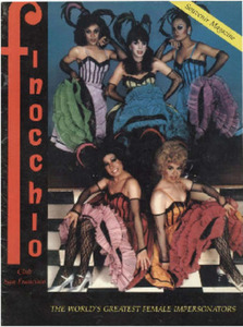 Finocchio Club San Francisco: The World's Greatest Female Impersonators Souvenir Magazine (1983)