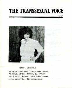 The Transsexual Voice (June 1985)
