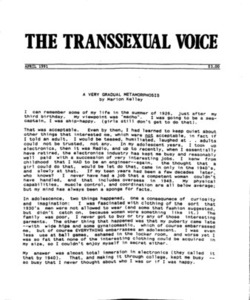 The Transsexual Voice (April 1991)