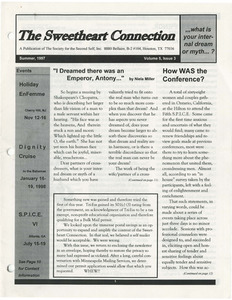 The Sweetheart Connection Vol. 5 No. 3 (Summer 1997)