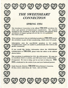 The Sweetheart Connection Flyer (Spring 1994)