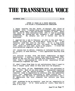 The Transsexual Voice (December 1994)