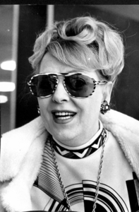 Christine Jorgensen at the Filming of What Sex Am I ? (1985)