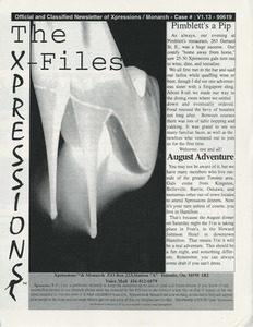 The Xpressions X-Files Newsletter Vol. 1 No. 13