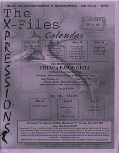 The Xpressions X-Files Newsletter Vol. 2 No. 22