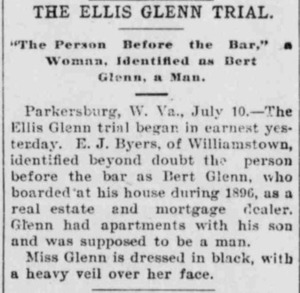 The Ellis Glenn Trial