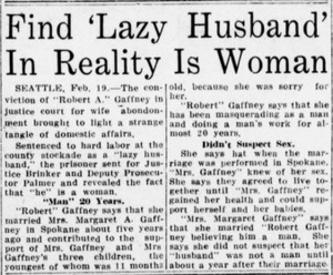 Find 'Lazy Husband' In Reality Is Woman