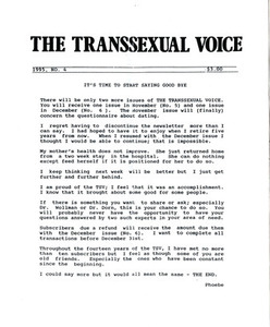The Transsexual Voice No. 4 (1995)
