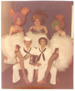 Can-Can Performers at the 1976 Foxy Follies