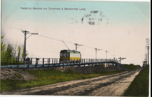 Trestle Bridge on Taunton and Brockton Line