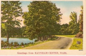 Greetings from Raynham Center, Mass