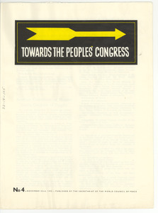 Towards the peoples' congress number 4