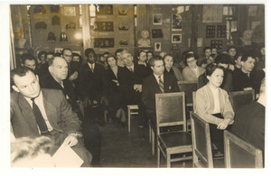 Audience at unidentified Russian conference