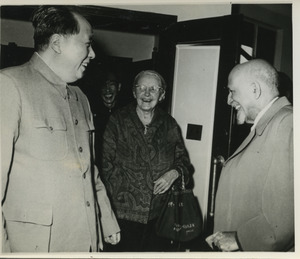 Mao Zedong, Anna Louise Strong, and W. E. B. Du Bois