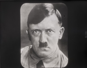 Adolf Hitler: portrait facing camera