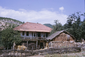 House and barn in Ohrid