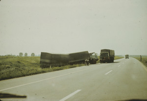 Accident on road to Skopje