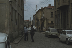 Parked cars in Bitola