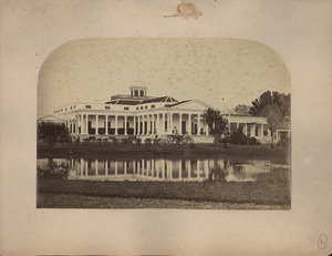 Back View of Gov. Genl's. Palace at Buitenzorg, Java