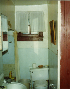 Bathroom in room where Bessie Smith died, Riverside Hotel