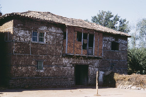 Brick building in Velesta