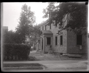 Alfred W. Ingalls' new house, late in construction