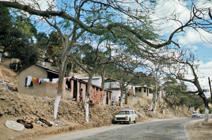 Hillside community in Haiti