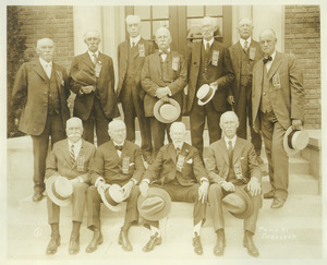 Class of 1871 during 50th anniversary reunion