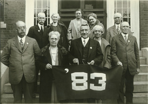 Class of 1883 at 45th reunion