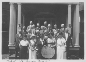 Class of 1882 at 40th reunion
