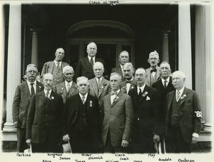 Class of 1882 at 45th reunion
