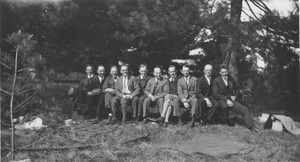 Class of 1913 reunion at Forest Park