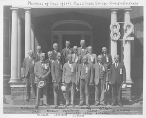 Class of 1882 at 50th reunion