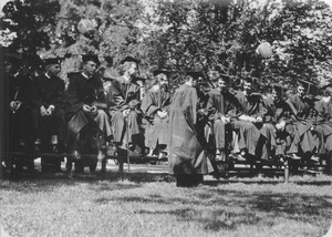 Class of 1931 during class day exercises