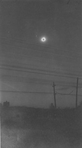 Total eclipse of the sun in Hadley, Massachusetts