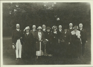 Class of 1883 at 40th reunion