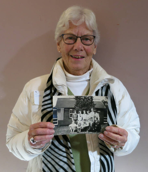 June Gillette at the Plymouth Mass. Memories Road Show