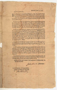 Boston, June 21, 1779: Gentlemen, By the inclosed Votes and Proceedings ...