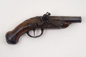 Pocket pistol belonging to Paul Revere