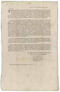 Boston, April 20th, 1773. Sir, The efforts made by the legislative [sic] of this province ...