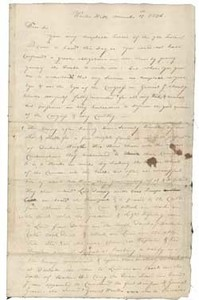 Letter from John Sullivan to John Adams, 15 March 1776