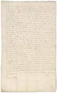 Petition of Prince Hall to the Massachusetts General Court, 27 February 1788
