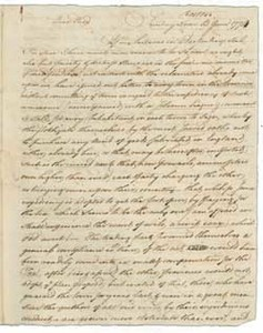Letter from John Andrews to William Barrell, 12 June 1774