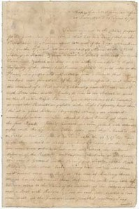 Letter from J. Waller to unidentified recipient, 21 June 1775
